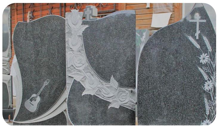 Пам'ятники з граніту та мармуру – що краще?